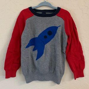 Baby Gap Kids boys rocket space cotton sweater